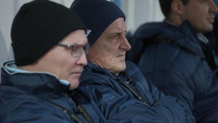 Първата тренировка в Левски за деня беше отменена