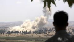 Нанасят въздушни удари с подкрепата на Русия срещу ДАЕШ в югозападна Сирия
