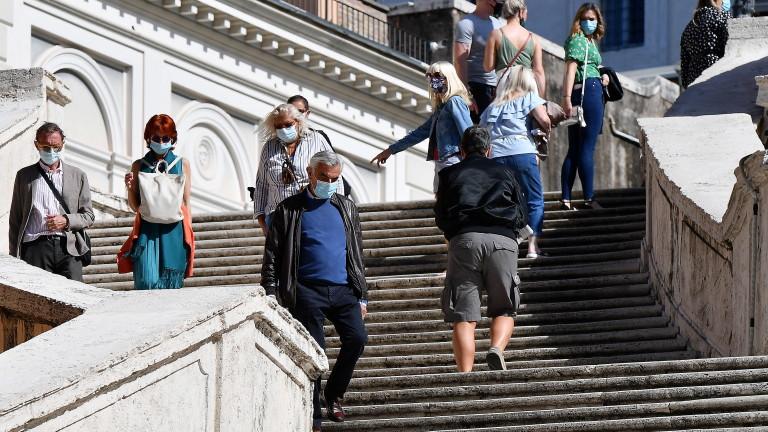 Рязък скок на заразените с коронавируса в Италия