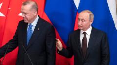 Ердоган и Путин обсъдиха коронавируса и Сирия