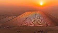 Как една пустиня се превръща в електроцентала