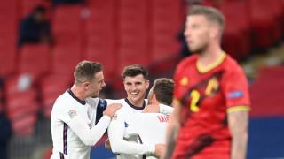 Англия обърна Белгия в най-интересния мач от Лига на нациите