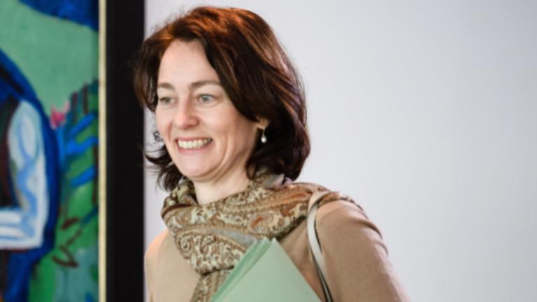 Германският министър на правосъдието Катарина Барли благодари на френския президент