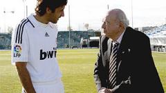 Реал отбеляза 20 години от дебюта на Раул за клуба