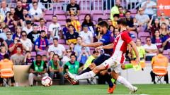 Барселона и Атлетик (Билбао) завършиха при равенство 1:1