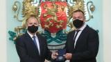 Кубрат Пулев бе удостоен с почетен знак на президента на страната