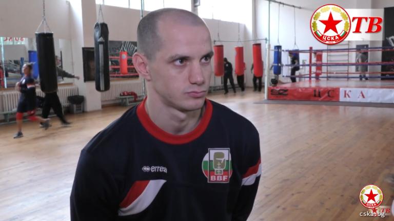 Треньорът на ЦСКА и младежкия национален отбор по аматьорски бокс