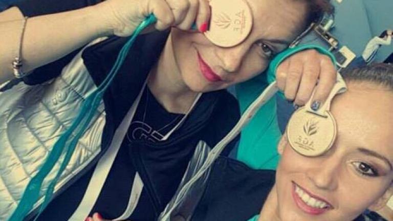 Гимнастичките се завърнаха след успеха в Баку с обещание за още медали