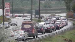 Засилен трафик преди празниците