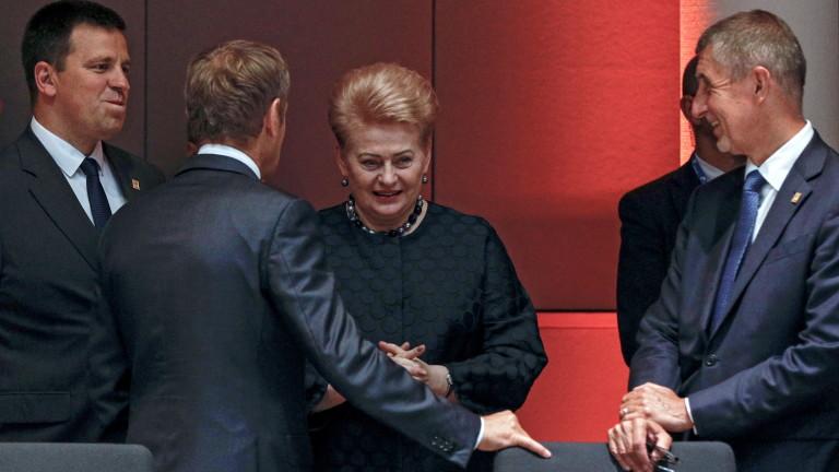 Европейските лидери не успяха да постигнат окончателно споразумение за топ