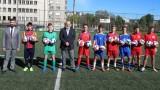 Красен Кралев откри футболен терен в Габрово