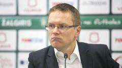 Валдас Дамбраускас: Не съм доволен от това, че не успяхме да спечелим