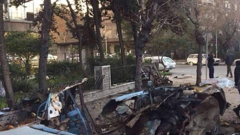 Кола бомба се взриви до руското посолство в Дамаск