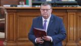 """ГЕРБ и """"Обединени патриоти"""" излъчват Цацаров за шеф на КПКОНПИ"""