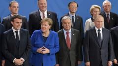 """Меркел и Макрон """"загубиха"""" Путин на срещата на върха в Берлин"""