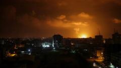 Израел удари Газа след ракетната атака
