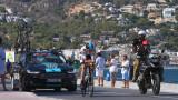 """Мощни освирквания за Кристофър Фрум на старта на """"Тур дьо Франс"""""""