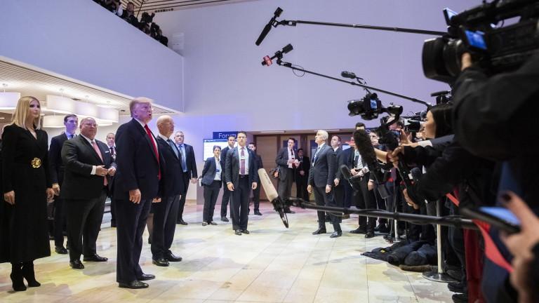 Тръмп: Импийчмънтът е позор и измама