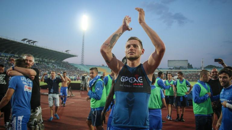 Давид Яблонски няма намерение да напуска Левски