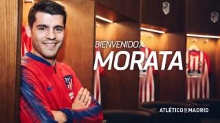 Официално: Алваро Мората е футболист на Атлетико (Мадрид)