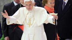 Папа Бенедикт XVI ще има прощална среща с президента Наполитано