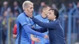 Мехди Бурабия не тренира с Левски