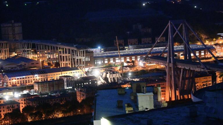 ЕС отвърна на Италия за обвиненията, че е виновен за рухналия мост в Генуа