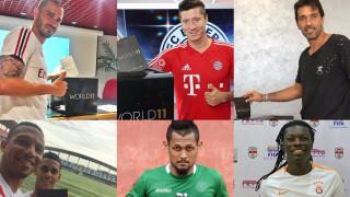 """Професионалните футболисти дадоха своя вот за """"Идеалния отбор на годината"""""""