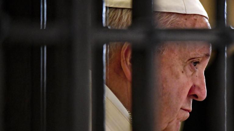 Папата обвинява дявола за сексскандалите и разделенията в Католическата църква