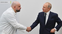 Лекар, разходил Путин в болница, е с коронавирус