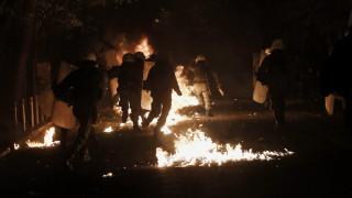 Десетки арестувани след сблъсъци на протестите в Гърция