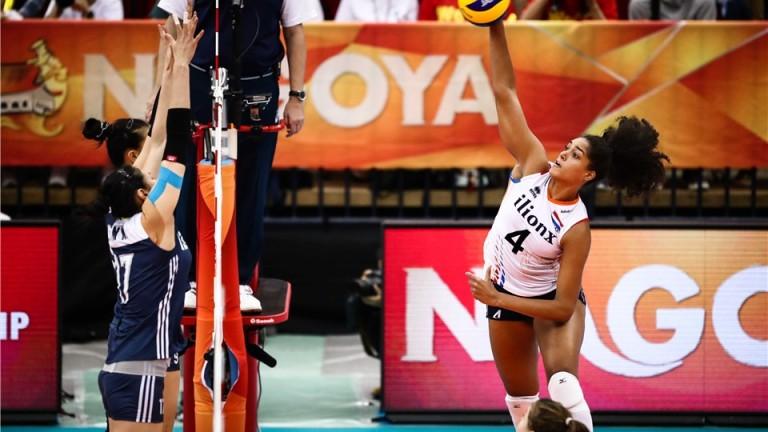 Китай победи Холандия с 3-1 (23-25, 25-13, 25-18, 25-17) в