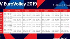 България започва срещу Франция на дамския Евроволей 2019