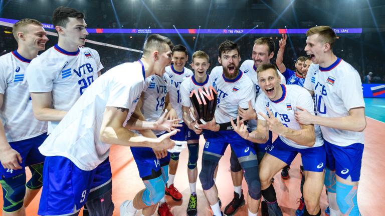 Волейболистите на Русия спечелиха и второто издание на мъжката светвона