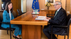 Юнкер проведе среща с Мария Габриел