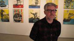 Поп арт художникът Робърт Марс пристига в България