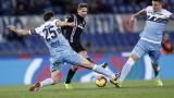 """Много драма и """"безкраен"""" мач на """"Олимпико"""", Лацио и Самп си вкараха по два гола"""