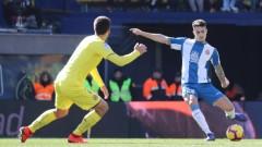 Виляреал изпусна Еспаньол след комфортен аванс, скандален автогол беляза мача
