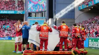 Кардиолог: Ериксен получи инфаркт