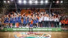 Баскетболистките до 16 години на 34-о място в Европа