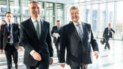 Столтенберг хвали Порошенко за ангажиментите му към демокрацията