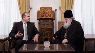 Президент и патриарх обсъдиха искането на Македонската църква да бъде призната от БПЦ