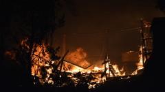 Втори пожар в мигрантския лагер на остров Лесбос
