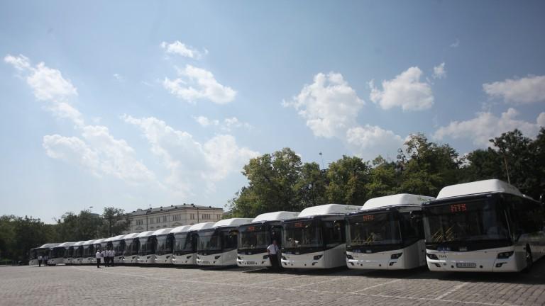 София дава 43 милиона лева за 60 нови газови автобуса
