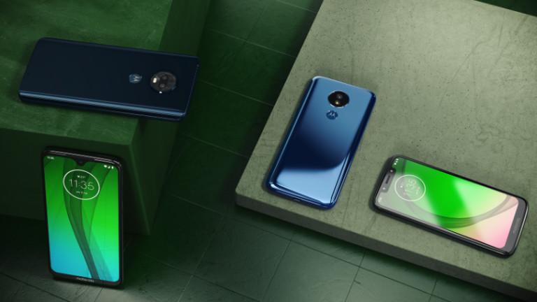 Новите Moto G7 смартфони са истинска радост за Android обществото