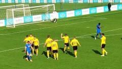 Левски - ФК Олександрия 1:2 (Развой на срещата по минути)