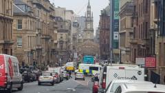 Шестима ранени при атака с нож в Глазгоу, нападателят е застрелян
