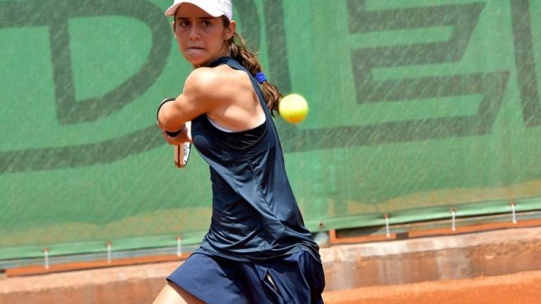 Талантливата Катерина Димитрова загуби осминафиналната си среща от турнира