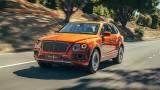 Bentley пусна на пазара хибриден кросоувър Bentayga