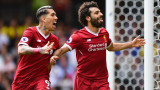 Хеттрик на Салах измъкна шампиона в луд мач със 7 гола срещу Лийдс